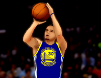 NBA Star Shooter--Stephen Curry