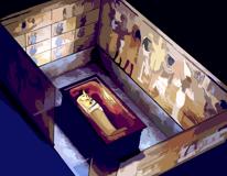 Secret Rooms in Tut's Tomb?