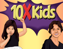 10X Kids, Scarlett and Sabrina Cardone!